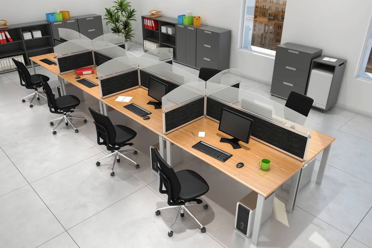 CLOISONNETTE POUR OPEN SPACE- CALL CENTER